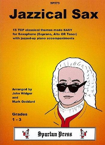 Jazzical Saxophone: Alto Or Tenor Saxophone and Piano
