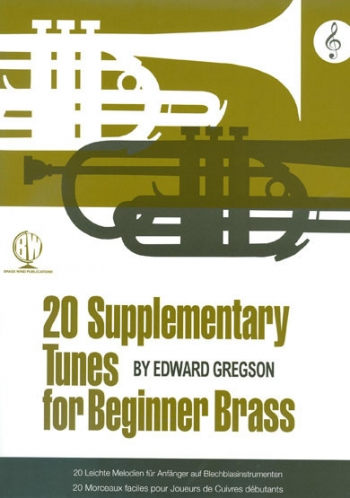 20 Supplementary Tunes Treble Clef For Beginner Brass (Gregson)