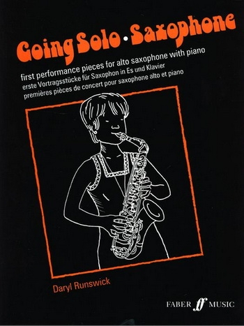 Going Solo Alto Saxophone & Piano