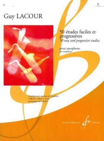 50 Etudes Faciles: Alto Saxophone: Studies: Vol.1