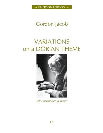 Variations On A Dorian Theme: Alto Saxophone (Emerson)