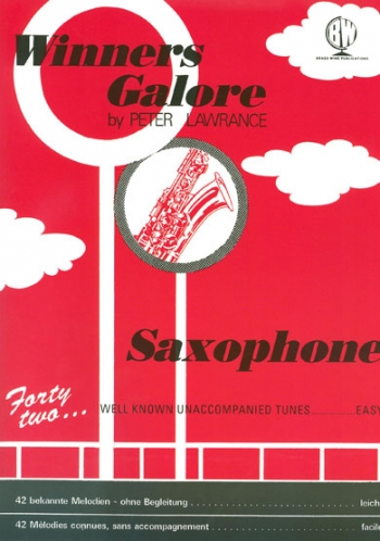 Winners Galore: Alto Saxophone Part