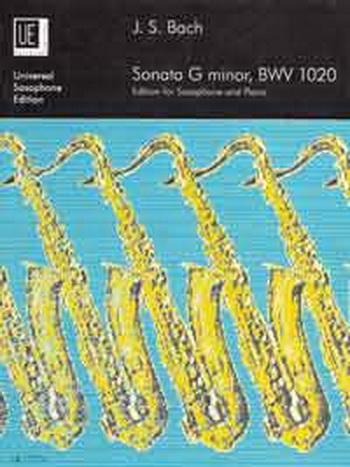 Sonata: G Minor Bwv 1020: Alto Sax & Piano (Universal)