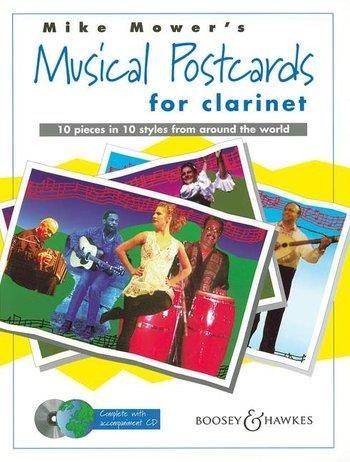Musical Postcards: Clarinet: Book & CD