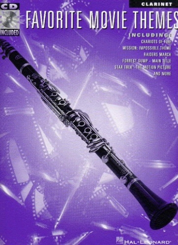 Favourite Movie Themes: Clarinet: Book & CD