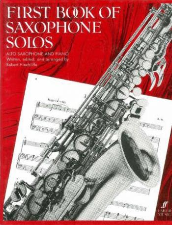 First Book Of Saxophone Solos: Alto Sax & Piano