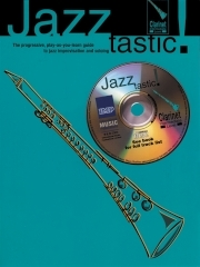 Jazztastic Clarinet: Intermediate: Book & CD