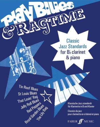 Play Blues and Ragtime: Clarinet & Piano