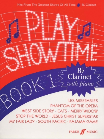 Play Showtime: 1: Clarinet & Piano (Archive)