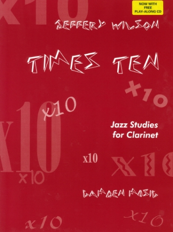 Times Ten (X 10): Clarinet: Book And Cd