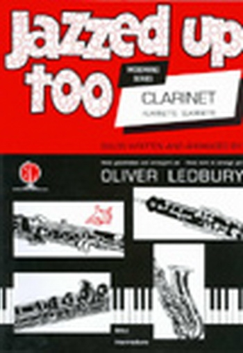 Jazzed Up Too: Clarinet & Piano (ledbury)