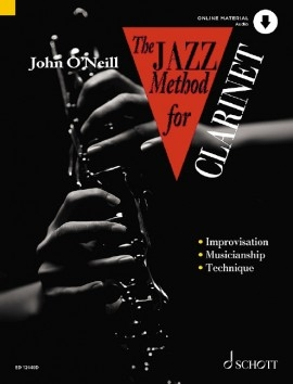 Jazz Method For Clarinet Book & Cd (O Neill)