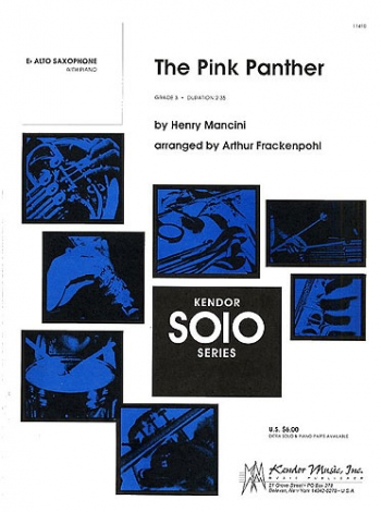 Pink Panther: Alto Saxophone And Piano