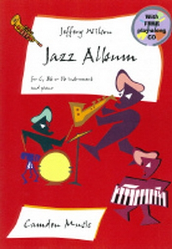 Jazz Album: C,Bb Or Eb instruments: Book & CD