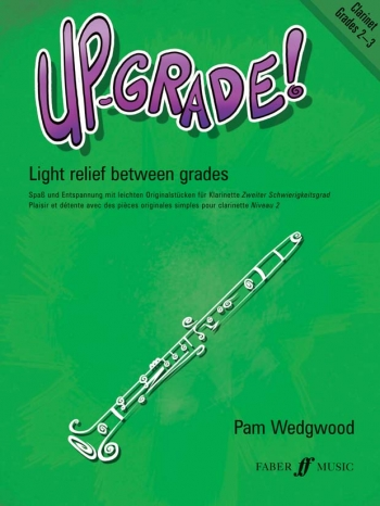 Up-Grade 2-3: Clarinet & Piano (Wedgwood)