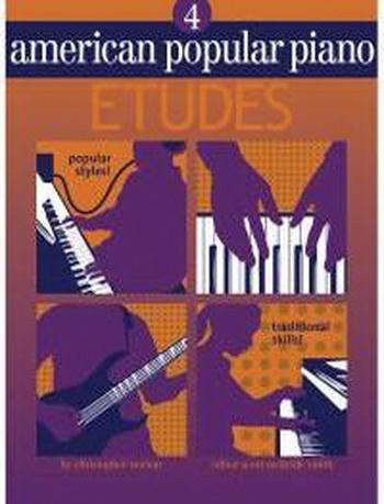 American Popular Piano: 4: Etudes