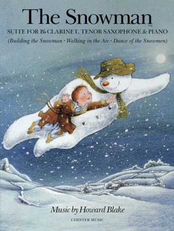 Snowman Suite: Clarinet/tenor Saxophone and Piano: Archive Copy