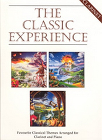 Classic Experience: Clarinet & Piano Book & CD