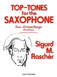 Top Tones For The Saxophone: Studies