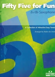Fifty-Five For Fun: Eb/Bb Saxophone Solo (De Smet)