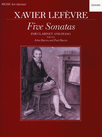 Five (5) Sonatas: Clarinet & Piano (Oxford)