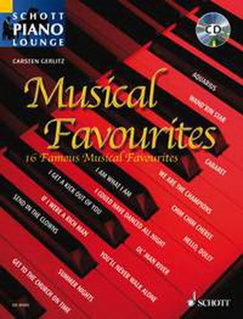 Musical Favourites: Schott Piano Lounge