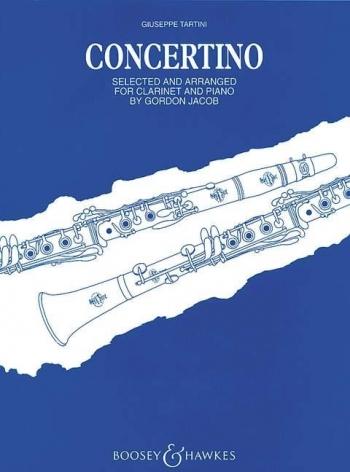 Concertino:  Clarinet & Piano (Boosey & Hawkes)