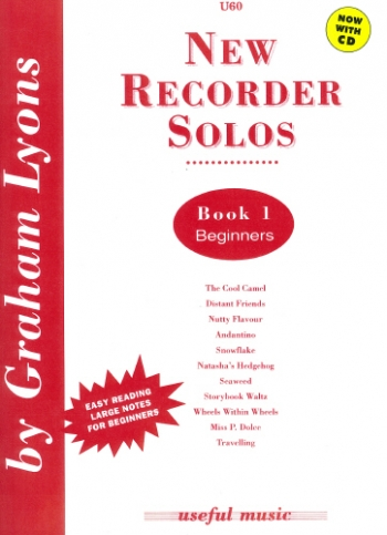 New Recorder Solos: 1: Recorder and Piano