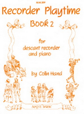 Recorder Playtime: Book 2: Recorder and Piano
