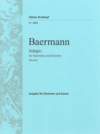 Adagio: Clarinet & Piano (Breitkopf)