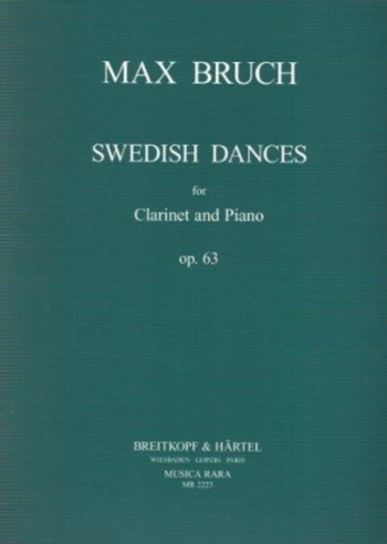 Swedish Dances: Op63: Clarinet & Piano (Breitkopf)