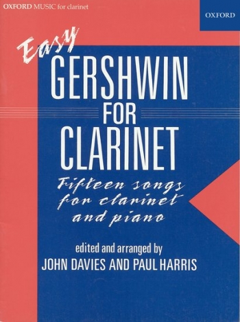 Easy Gershwin: Clarinet & Piano (harris) (Oxford)