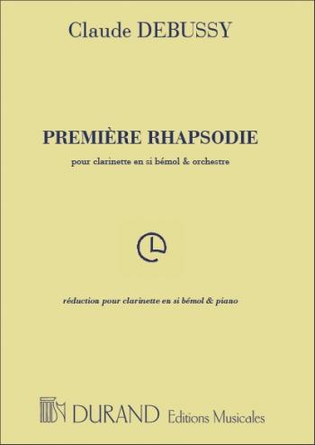 Premiere Rhapsodie: Clarinet & Piano (Durand)