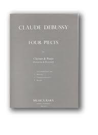 4 Pieces: Clarinet & Piano (Breitkopf)