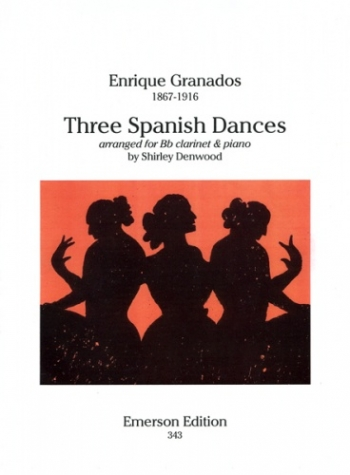 3 Spanish Dances: Clarinet & Piano (Emerson)