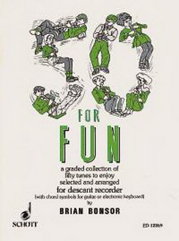 50 For Fun: Recorder & Piano (Bonsor) (Schott)
