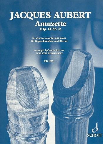 Amuzette Op.14/4: Recorder and Piano