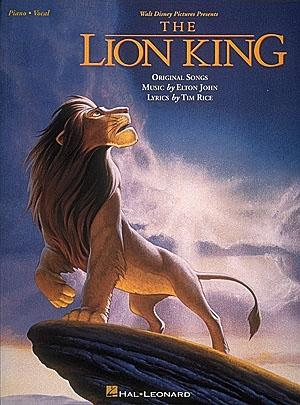 Lion King: Piano Vocal Guitar
