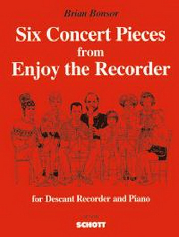 6 Concert Pieces From Enjoy The Recorder: Descant Recorder and Piano