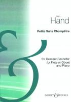 Petite Suite Champetre Op67: Descant Recorder and Piano