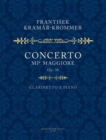 Concerto In Eb Op36: Clarinet & Piano  (Supraphon/ Barenreiter)