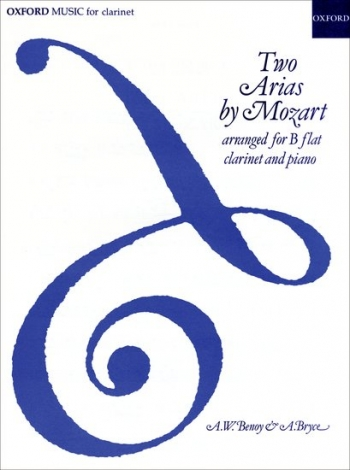 Two Arias By Mozart: Clarinet & Piano (Oxford)