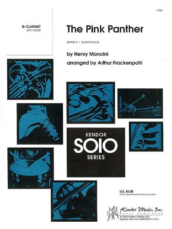 Pink Panther: Clarinet & Piano
