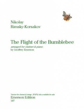 Flight Of The Bumble Bee The: Clarinet & Piano (Emerson)