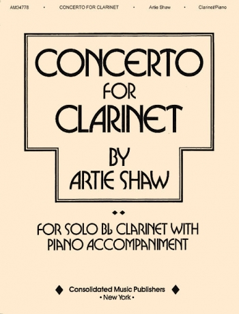 Clarinet Concerto For Clarinet and Piano