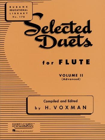 Selected Duets For Flute: Vol.2 (Voxman)