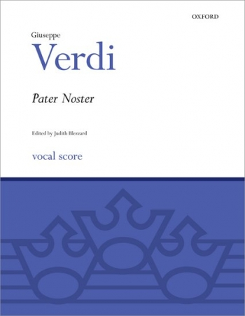 Pater Noster: Vocal Score: Ssatb