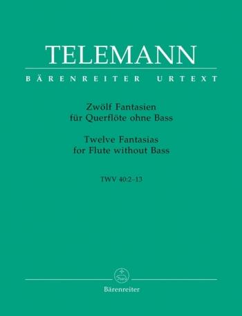12 Fantasias: Flute (Barenreiter)