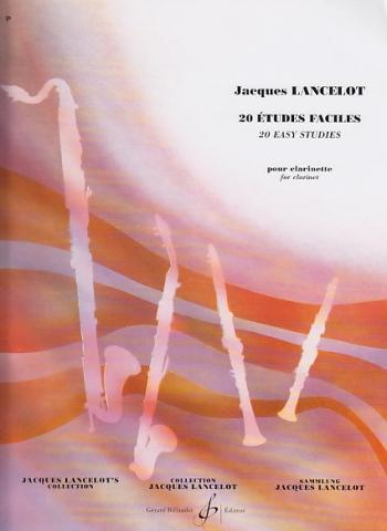 20 Etudes Faciles: Clarinet  (Billaudot)