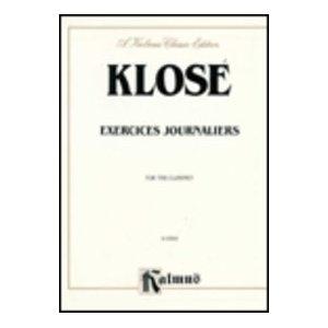Exercises Journaliers: Clarinet
